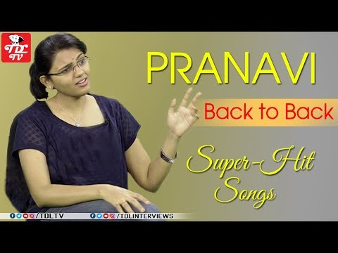 Singer Pranavi Songs || Singer Pranavi Interview || Telugu Interviews ||Part 9