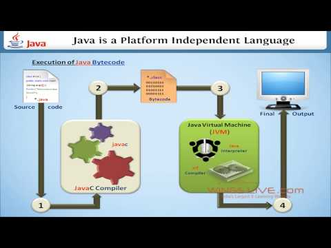 Why Java is a platform independent language? - Wingslive