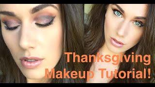 My Cut-Crease Thanksgiving Makeup Tutorial!   Cassandra Bankson