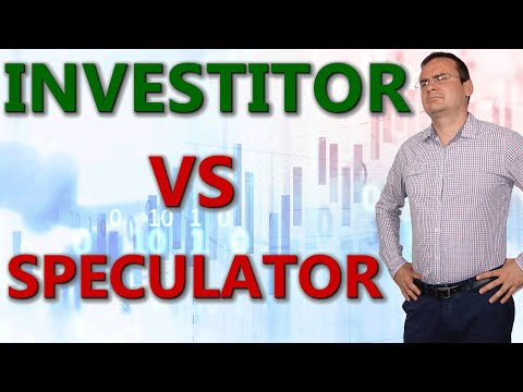 Investitor sau speculator pe bursa