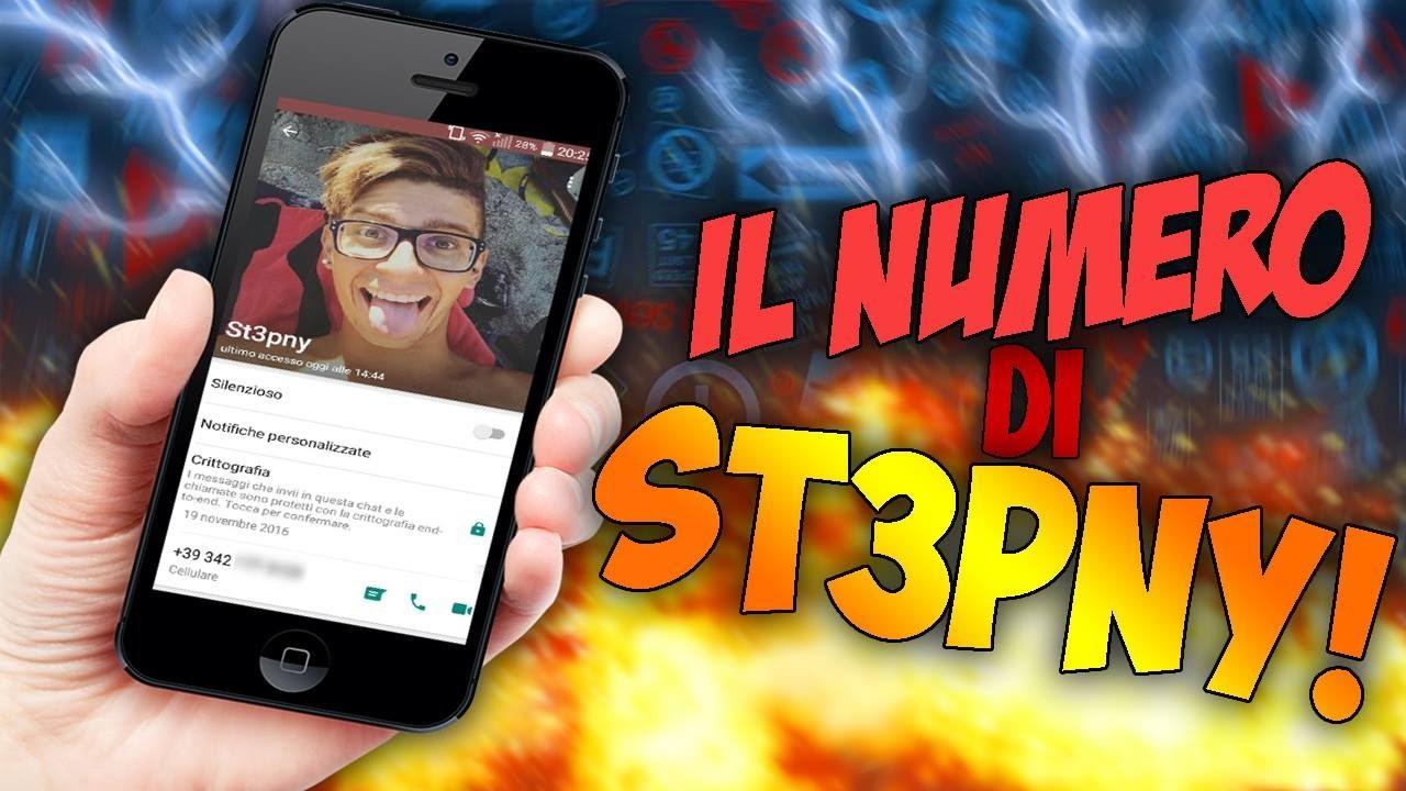 il numero di st3pny youtube