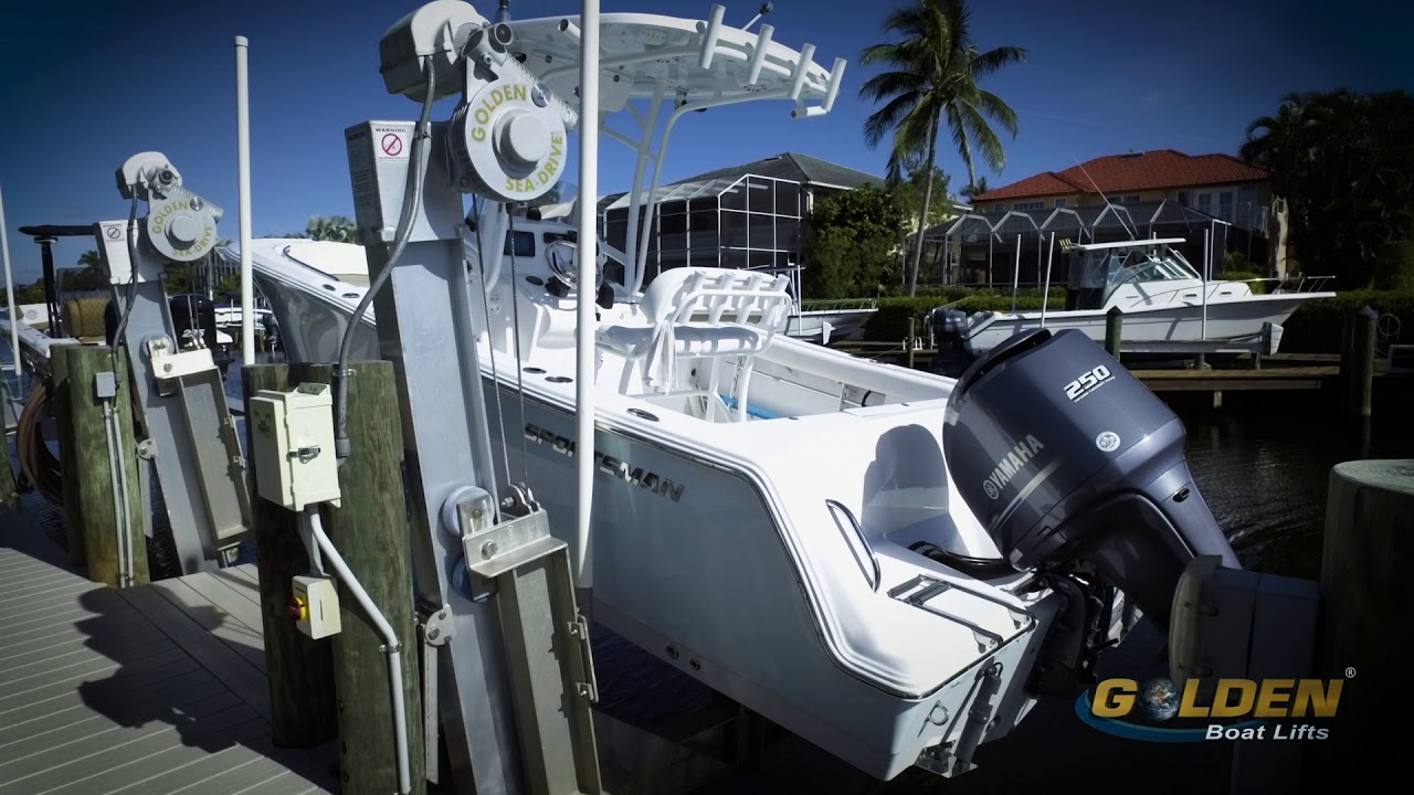 Elevator Boat Lifts | Fort Myers, Naples | Golden Boat Lifts