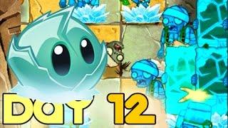 Plants Vs Zombies 2 Ancient Egypt   Day 12 (20 Below Zero) Walkthrough