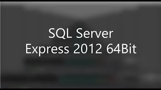 Gambar cover SQL Server Express Installation 2012 64Bit