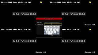 Restablecer contraseña olvidada DVR Epcom y Hikvision
