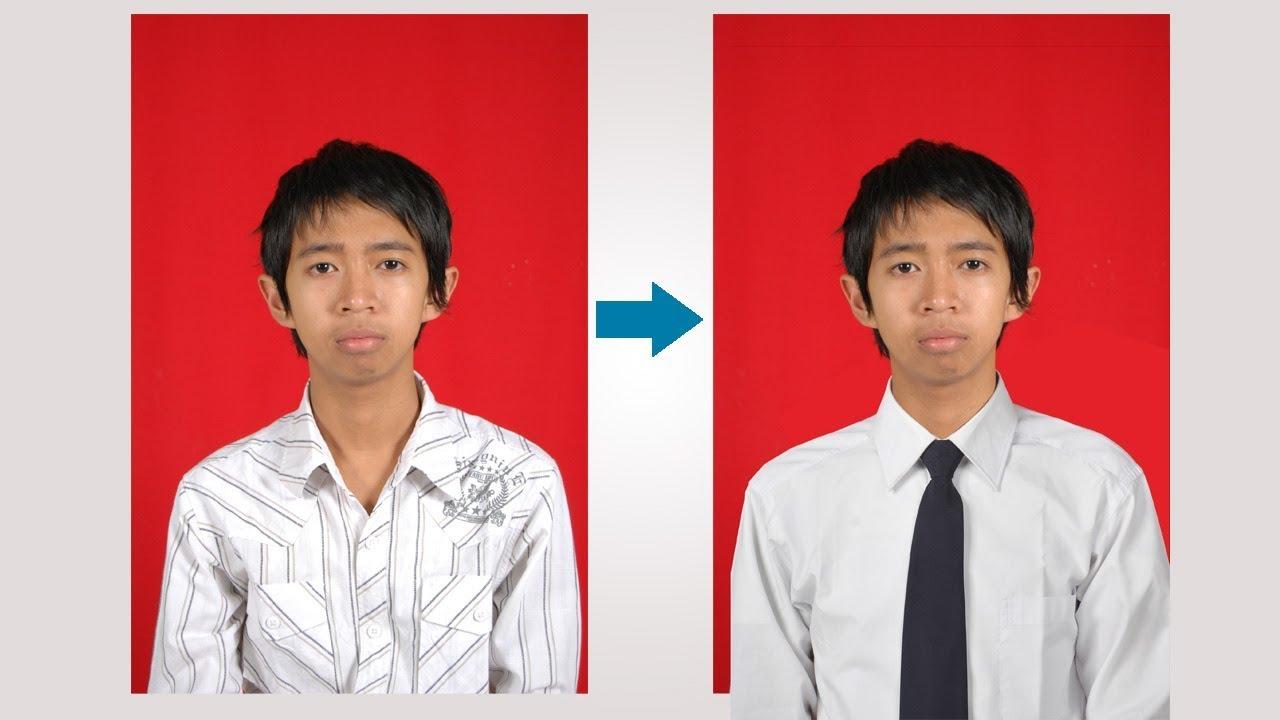 Cara Mengganti Baju Biasa Dengan Formal Di Photoshop Youtube