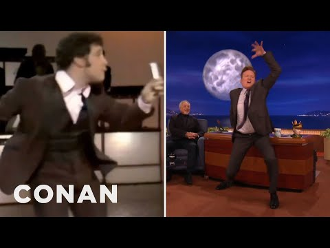 Tom Jones & Conan Compare Dance Moves  - CONAN on TBS