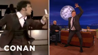 Tom Jones & Conan Compare Dance Moves  - CONAN on TBS