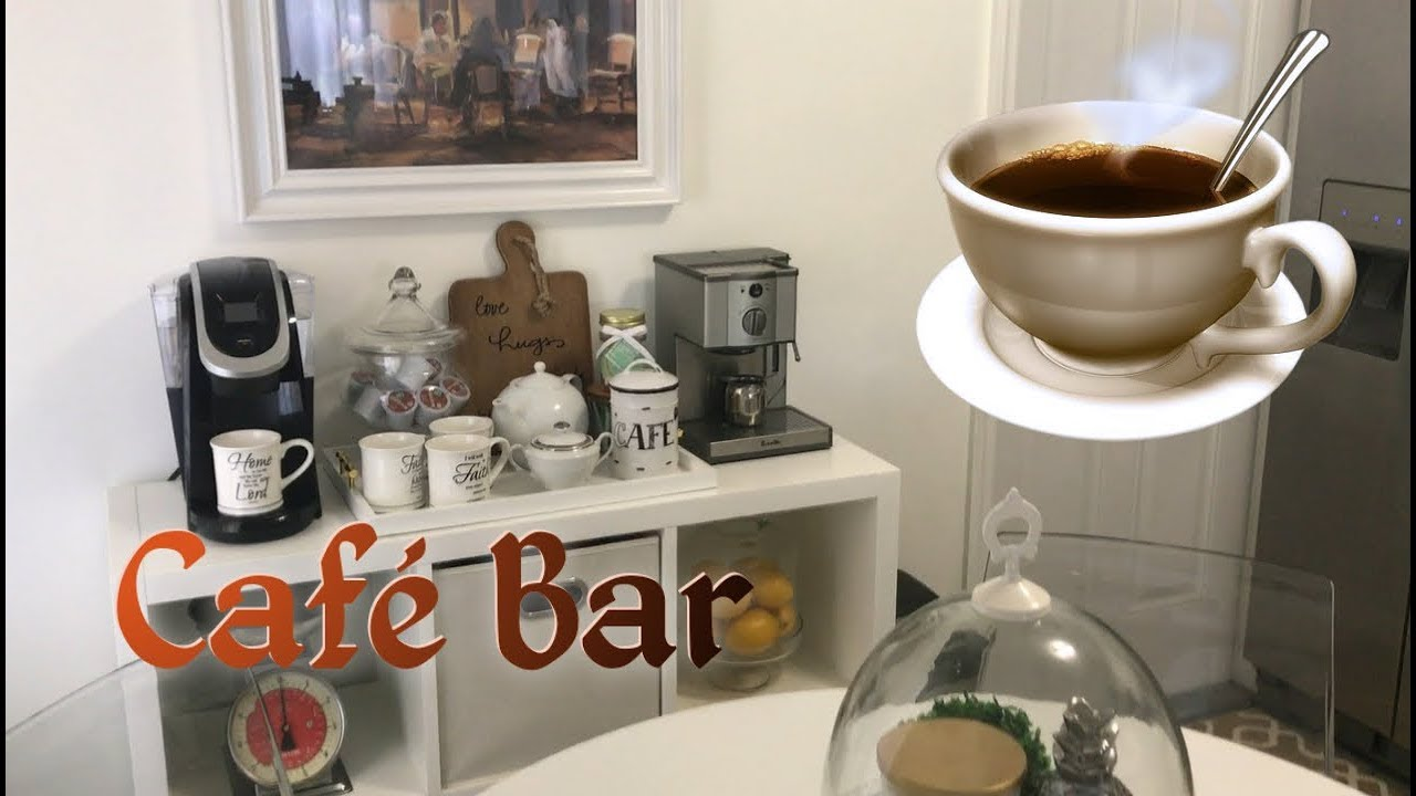 Decorando con ideas creativas un cafe bar decoracion - Ideas decoracion bar ...