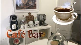 DECORANDO CON IDEAS CREATIVAS UN CAFE BAR/DECORACION INTERIOR …