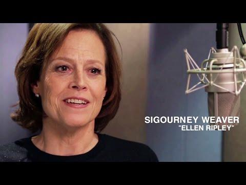 ALIEN ISOLATION Sigourney Weaver Interview