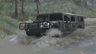 Spintires Mods - Hummer H1 Mudding Test