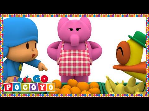 Let's Go Pocoyo! - Elly's Market [Episode 22] in HD
