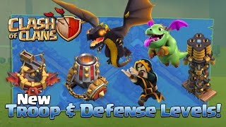 Repeat youtube video Clash of Clans NEW Update TROOPS & DEFENSES