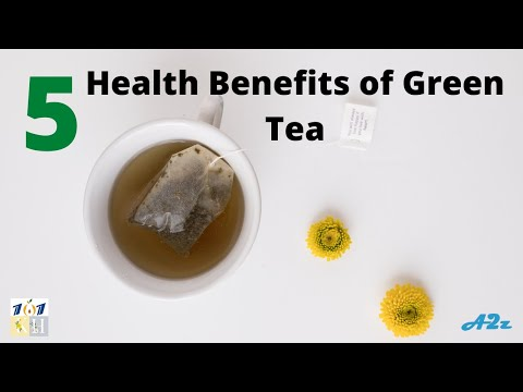 5 Health Benefits of green tea | Health Benefits Of Green Tea With Lemon And Honey