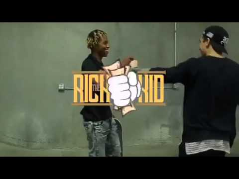 Nyjah Houston and Rich the kid skating !