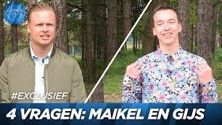 4 vragen voor Maikel en Gijs | UTOPIA