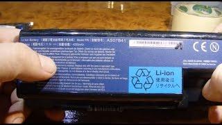 видео Купить аккумулятор для ноутбука Acer