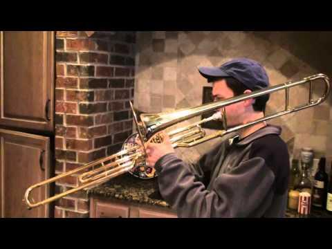 Olds valve trombone serial # 536878 1 of 2