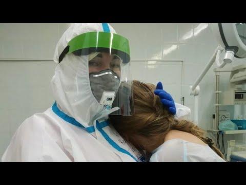 В югорском ковидном госпитале приняли первые роды