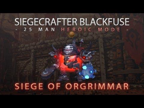 Siegecrafter Blackfuse -