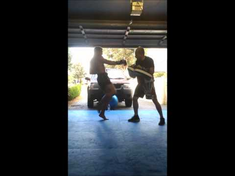 Nathan Carnage Corbett at Martial Mix 'home gym footage'.wmv