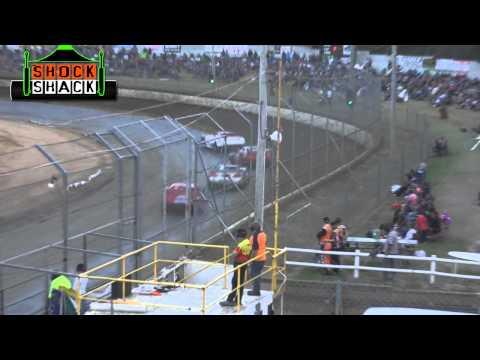 Super Sedans - B-Main - Australian Title - Latrobe Speedway - 31.01.15