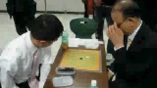 Repeat youtube video 九路盤囲碁ー全盲の棋士の対決ー