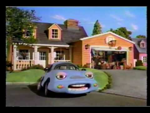 Ads On Twch 059 Chevron Claymation Cars Garage Clutter