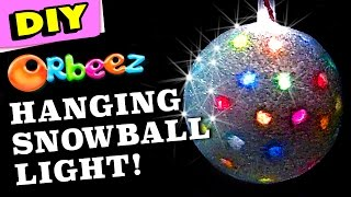 Orbeez Big Snowball Light DIY | Official Orbeez