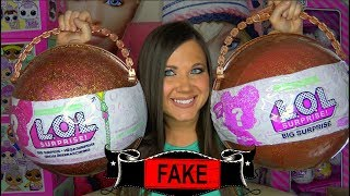 Fake LOL Big Surprise opening Series 3 wave 2 pearl surprise | FAKE LOL Kristen Ingold