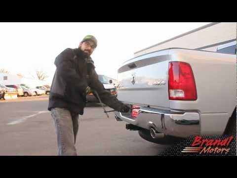 Lowering the Spare Tire on Ram Trucks - Brandl Media Minute - 12-15-11