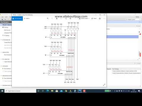 Learn FPGA 3: 4x4 Multiplier implemented using 4 bit adder on EDGE Spartan 7 FPGA kit