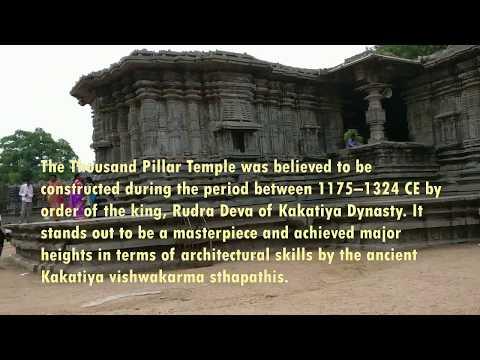 Thousand Pillar temple - Warangal - Telangana