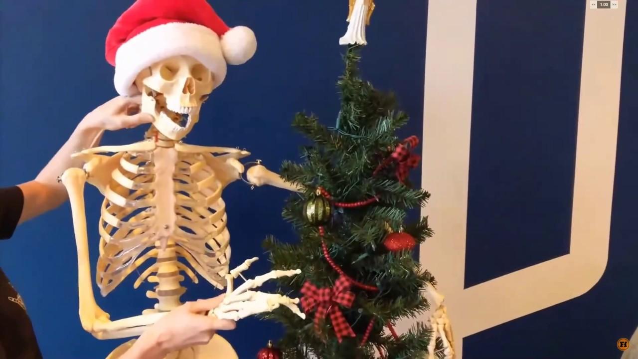Christmas Skeleton.Funhaus Elyse Christmas Skeleton