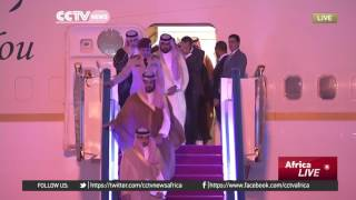 G20 Summit: Saudi Arabian leaders arrive at the summit