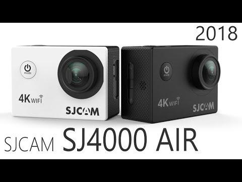 Sjcam SJ4000 AIR 2018 года с улучшенными характеристиками.