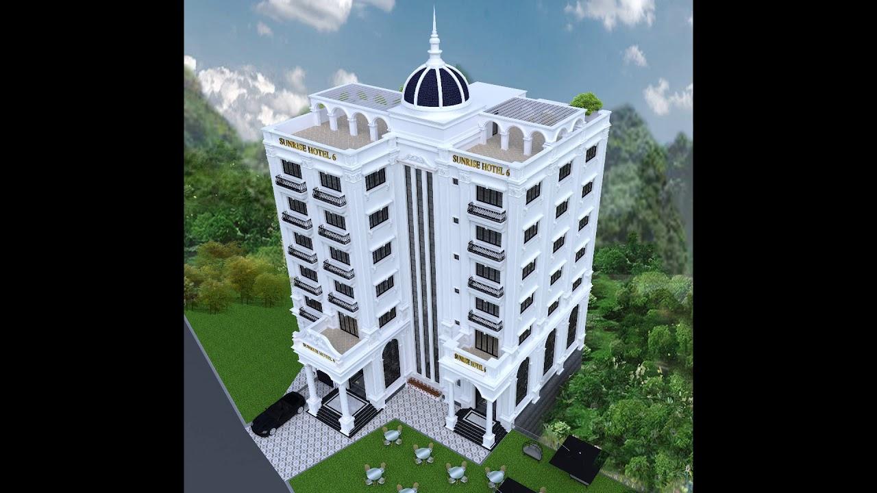 Chuẩn bị có khách sạn đẹp nhất Yên Bái- Khách sạn Sunrise 3 Yên Bái