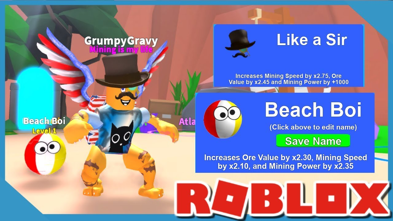Roblox Mining Simulator Lower Volume Hatched A Rainbowcorn 6
