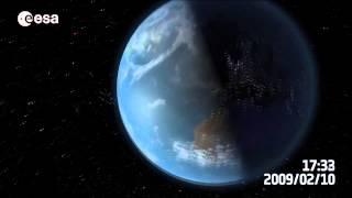La Basura Espacial alredeor de la Tierra