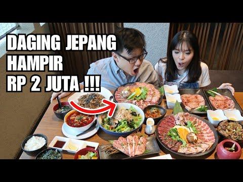 HABIS RP 2 JUTA MAKAN DAGING KOBE BEEF JEPANG !!!
