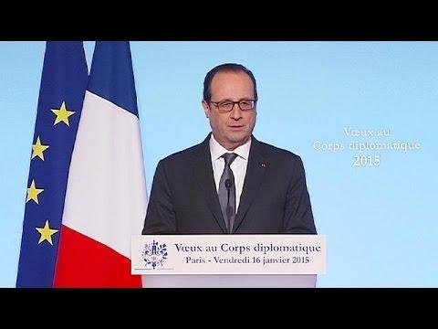 """Hollande appelle à une réponse """"ferme"""" et """"collective"""" contre le terrorisme"""