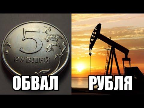 ОБВАЛ РУБЛЯ 9 Марта 2020 / Цена на нефть / Обвал курса рубля, обвал нефти, курс доллара и евро