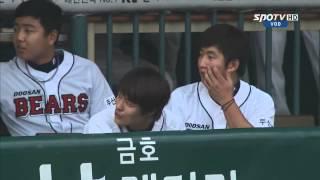 Крутой бросок корейской гимнастки