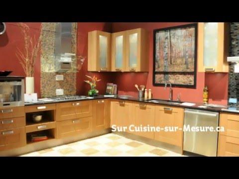 porte d 39 armoires de cuisine en m lamine youtube. Black Bedroom Furniture Sets. Home Design Ideas