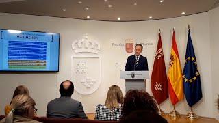 El Gobierno regional anuncia una inversión de 40 millones para la recuperación del Mar Menor