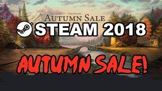 STEAM AUTUMN SALE 2018, BLACK FRIDAY FALL SALE + Steam Awards Badge! Best Deals, Dates & Details!