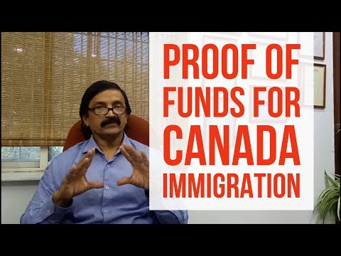 How to Show Proof of Funds for Canada Immigration - Manoj Palwe explains