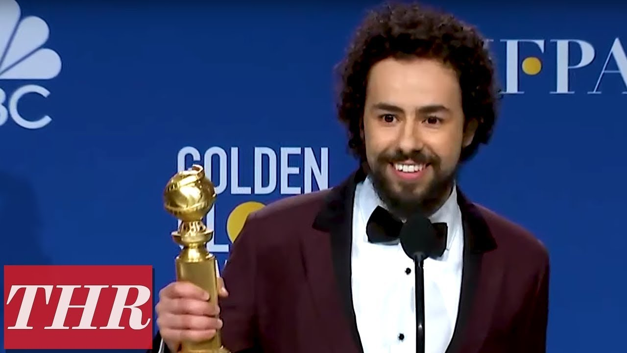 Golden Globes Winner Ramy Youssef Full Press Room Speech | THR