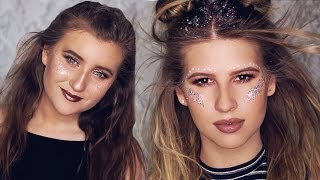 COACHELLA MAKEUP LOOKS 2017 - Chit Chat Get Ready W/ My Sister ✨